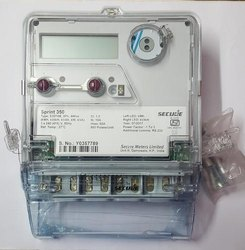 Secure Three Phase Solar Net Meter, For Industrial, Model Name/Number: Sprint 350