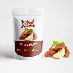 BRAZIL NUTS, Packaging Type: ZIP PACK, Packaging Size: 250 Gm