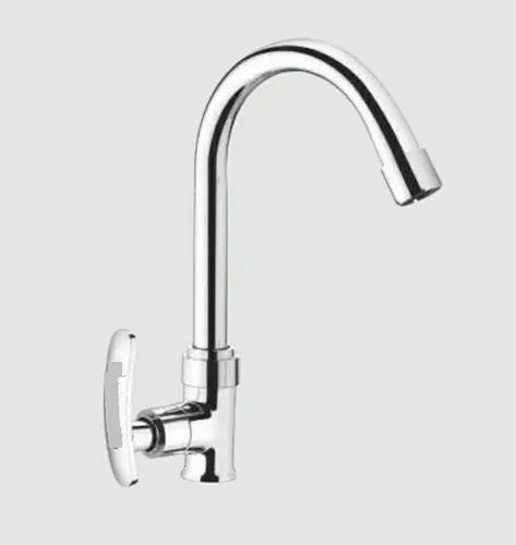 Sink Cock With Regular Swinging Spout ( Table  Mount )