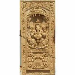 Temple Carved Door