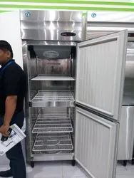 Silver Statics Cooling Hoshizaki Two Door Refrigerator With 5 Year Warranty, Model Name/Number: Hrsw76, Capacity: 507 Litre