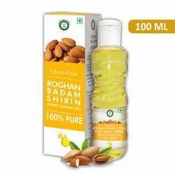 Ultra Fine Roghan Badam Shirin 100 ML (Sweet Almond Oil)
