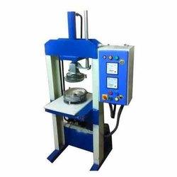 Single Die Hydraulic Paper Dona Making Machine