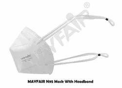 Mayfair N95 Face Mask Headband 5 Layer