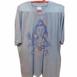 Men Cotton  Printed T Shirt