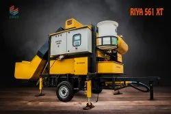 Equad Mobile Automatic Lightweight Concrete Batching Plant, 6300 X 2000 X 2500