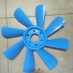 Blue Plastic Turbo Fan Blade.