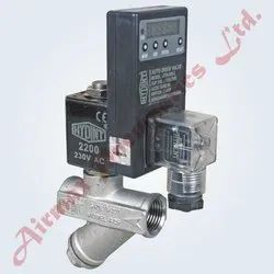 Auto Drain Valve With Electrical Digital Adjustable Timer