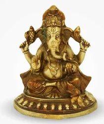 Brass Statue Ganesh Ji