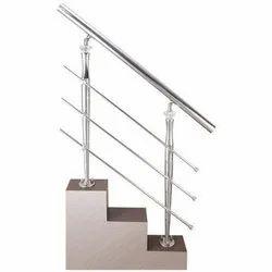 Stainless Steel railing, For Hotel/Restaurant, Material Grade: 304