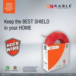 VR Kable 6.00 Sq Mm HDFR Unilayer Wire
