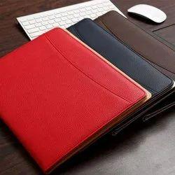 Leather file folders