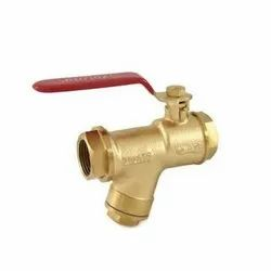 1085 Screwed Bronze Ball Valve With Integral Strainer