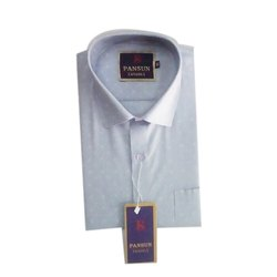 Pansun Printed Men Casual Cotton Shirt, Machine Wash