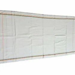 KRTM Plain White Cotton Gamcha, Size: 1.60 Meter ( Length )