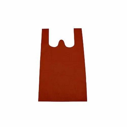 Brown Non Woven W Cut Bags