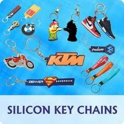 Silicon Keychain