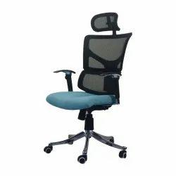 Caterham Mesh Sky Blue Office Chair