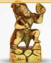 410 gm Brass Statue Hanuman Ji