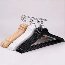 Shirt Wooden Brown Cloth Hanger