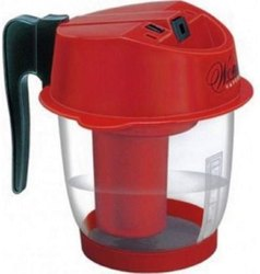 Steam Inhaler And Plastic Vaporizer, Red