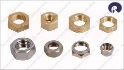 Ril Round Industrial Brass Nuts
