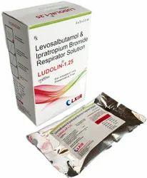 Ludolin- 1.25 (Levosulbutamol I.P.1.25mg Ipratropium Bromide I.P. 500 Mcg)