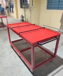 Square & Rectangular Colored Aluminium Extrusion, For Industrial, Thickness: Standard