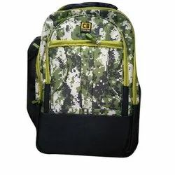 Non Woven Printed Army Print School Backpack