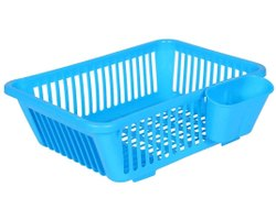 Plastic Kitchen Sink Dish Drying Drainer Rack Holder Basket