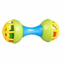Sanchi Creation Elite Toddlers Dumbbell BPA-Free & Non-Toxic Rattle