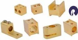 Switching Part Brass Switchgear Components, For Electrical, Switch Size: 2 Module