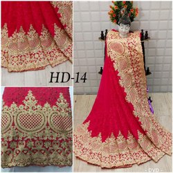 Heavy Designer Georgette Work Indian Wear Saree