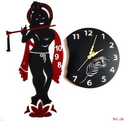 Designer Krishna Wall Clock