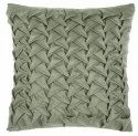Pista colored handmade  satin cushion cover