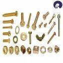 Raj Thumb Screw Brass Fasteners, Grade: Cuzn39pb3, Size: M - 2 To M -40