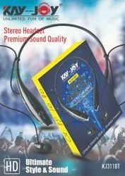 Black Kay Joy KJ311BT Stereo Bluetooth Headset