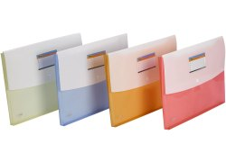 TRIO CF411F Document Envelope Double Pocket FC