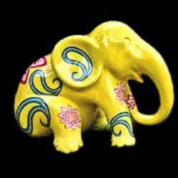 Fiberglass Elephant Water Parkstatue
