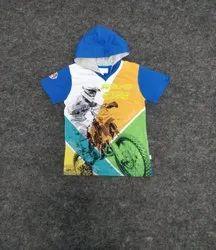Cotton Boys Kids Export Surplus Winters T-Shirts