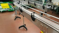 Stainless Steel Material Handling Conveyors, For Industrial, Capacity: 1 Ton