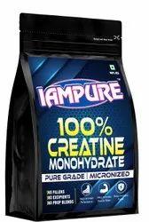 Powder Creatine Monohydrate Micronized- Iampure Brand, Packaging Size: 100