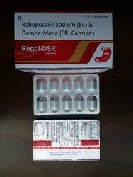 RUGBY -Rabeprazole Sodium 20 mg  Domperidone 30 mg SR