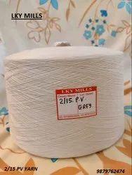 2/15 PV SPL Grey Yarn 15/2