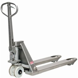ACE Hand Operated Stainless Steel Pallet Truck, For Material Handling, Lifting Capacity: 2500 Kg