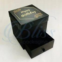 Birthday Gift Box With Chocolate Drawer