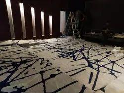 多色加济阿巴德家庭影院地毯