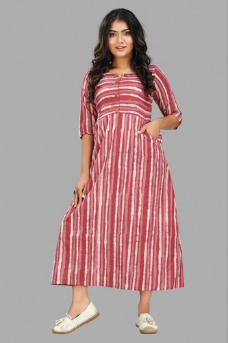 New Look Fancy Pure Cotton Gown