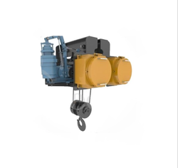 Flame proof hoist in EOT Crane