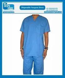 Male Non Woven Disposable Surgeon Kurta Pajama, Size: Universal Fit